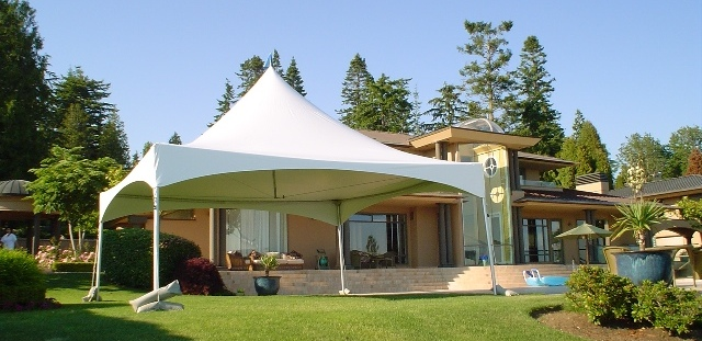 Marquee Tent at West Coast Bridal
